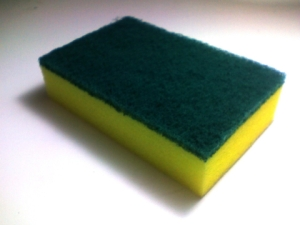 A brand is like a sponge. Except it is probably dirtier than this one.